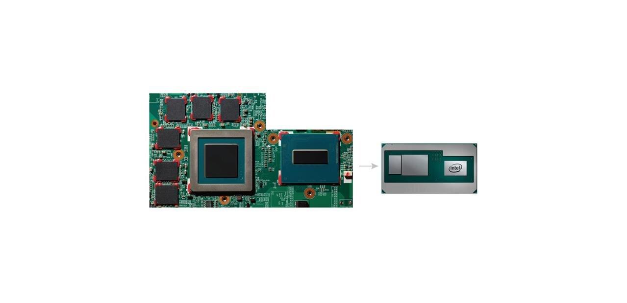 Les processeurs IntelCore de 8ème génération« G »avec Radeon RX Vega M et HBM2 dévoilés