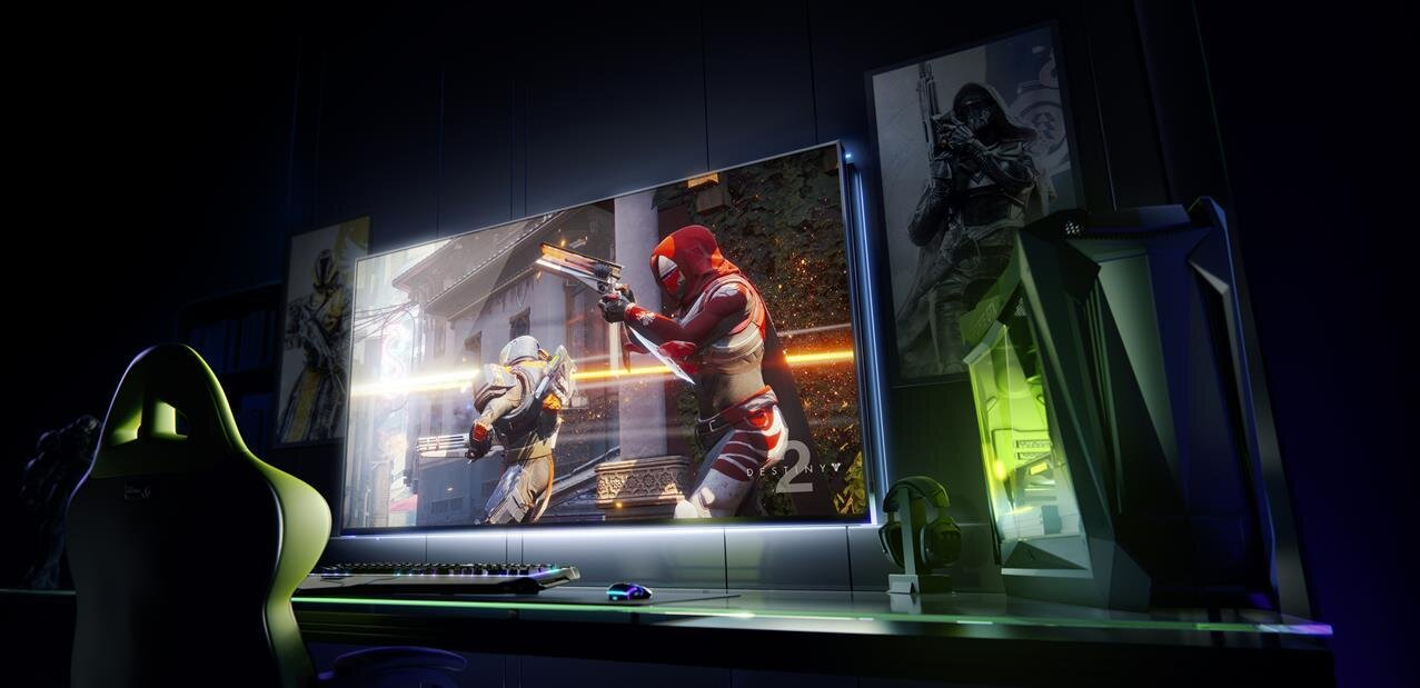 NVIDIA : Big Format Gaming Display avec Shield et Android TV, GeForce Now sur PC avec Uplay