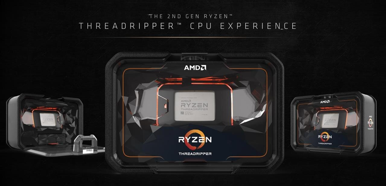 Dynamic Local Mode, October 2018 : AMD revoit les performances de ses Threadripper WX à la hausse