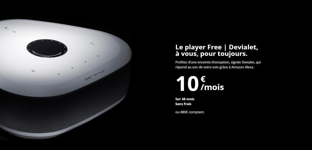 Freebox Delta Player Devialet Les Gens Veulent Avant Tout
