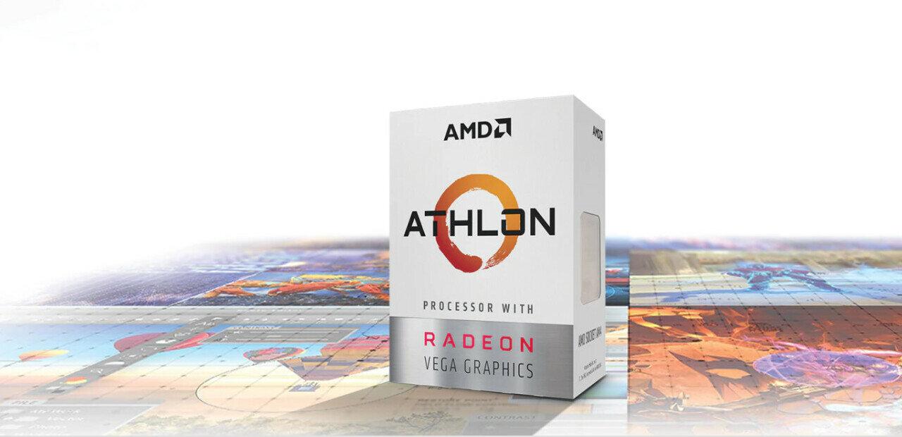 AMD annonce ses Athlon 220GE et 240GE, dès 65 dollars
