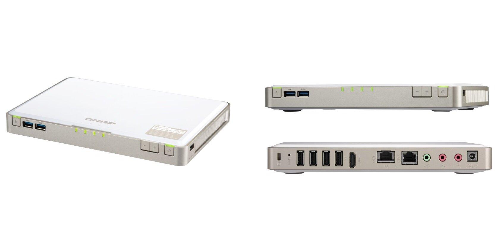 QNAP TBS-453DX : un nouveau NASBook compact avec 10 GbE et M.2... S-ATA seulement