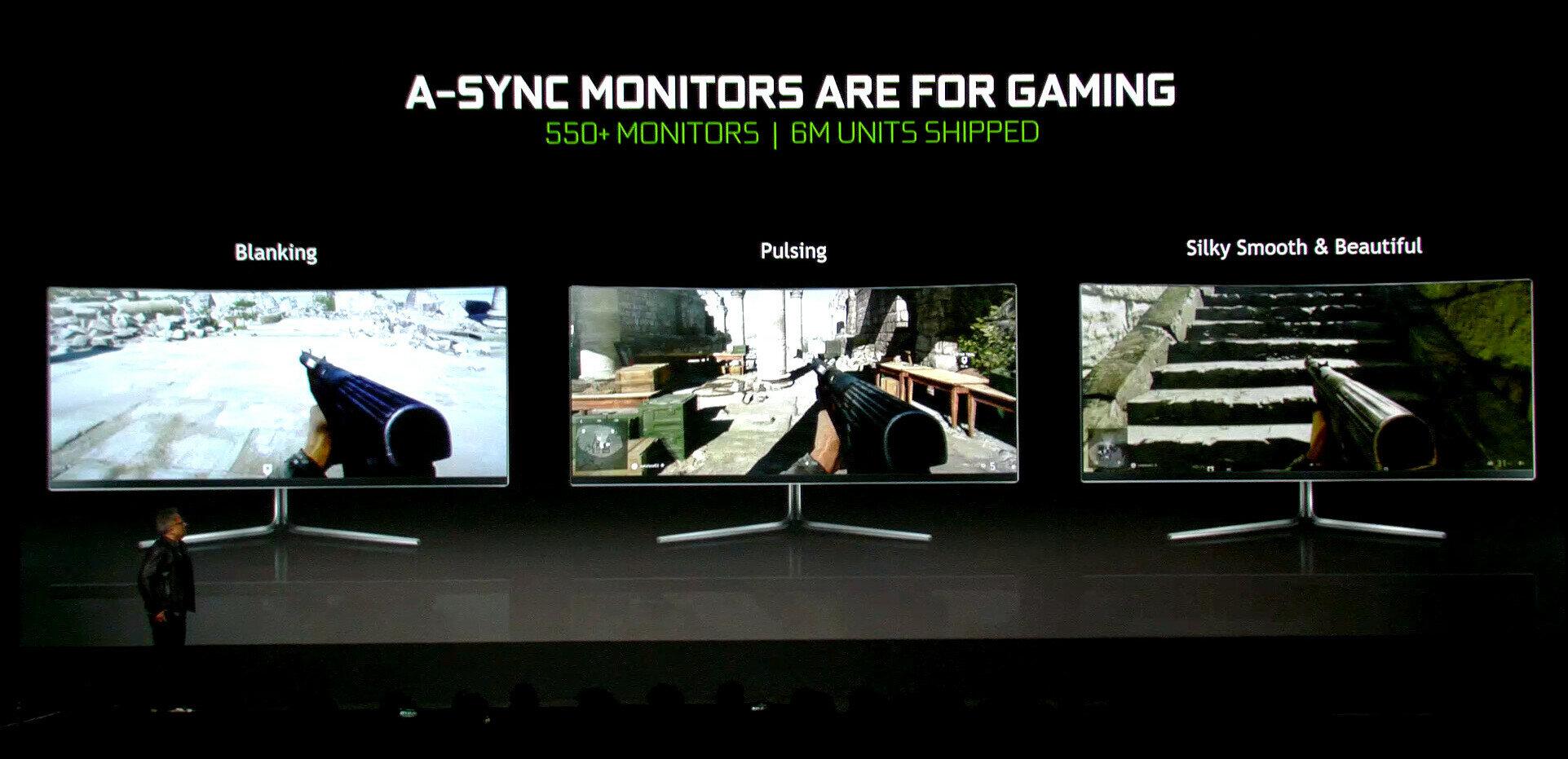 NVIDIA s'ouvre au standard Adaptive Sync de la VESA, les écrans G-Sync Ultimate et BFGD sont là