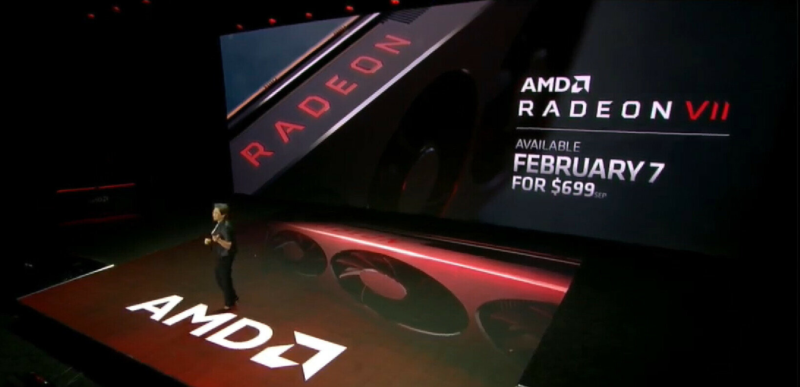 La Radeon VII d'AMD disponible le 7 février : 7 nm, performances d'une RTX 2080... 700 euros