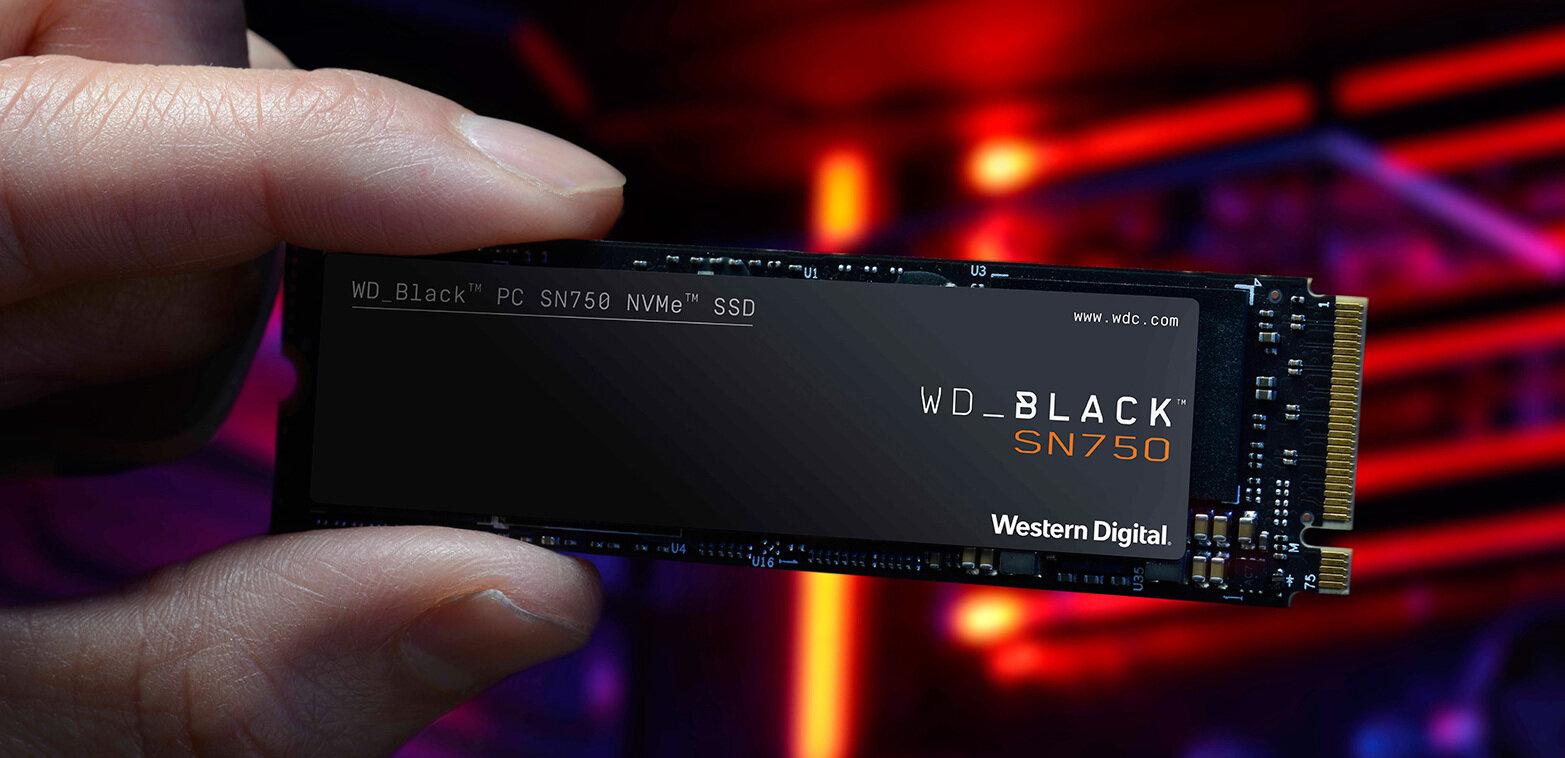 SSD SN750 M.2 à 3,5 Go/s : Western Digital nous parle de sa « nouvelle » gamme Black