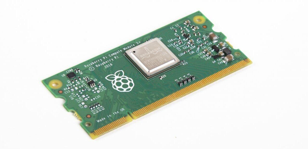 Raspberry Pi : le Compute Module 3+ disponible avec ou sans eMMC, dès 25 dollars