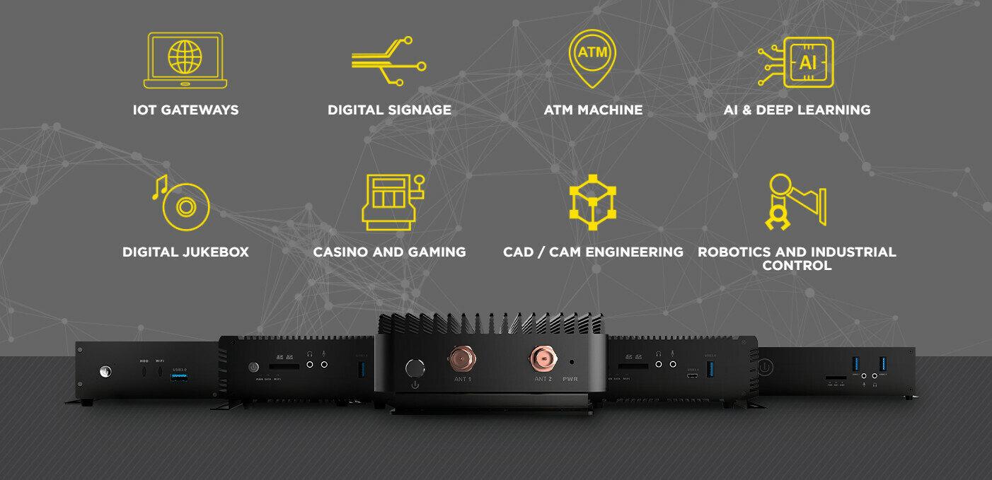 Zotac dévoile une gamme de mini PC dédiés au marché de l'embarqué