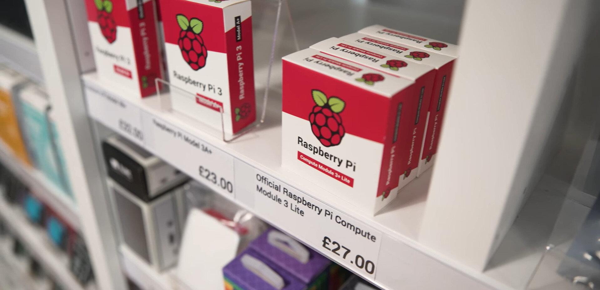 La fondation Raspberry Pi ouvre sa première boutique à Cambridge