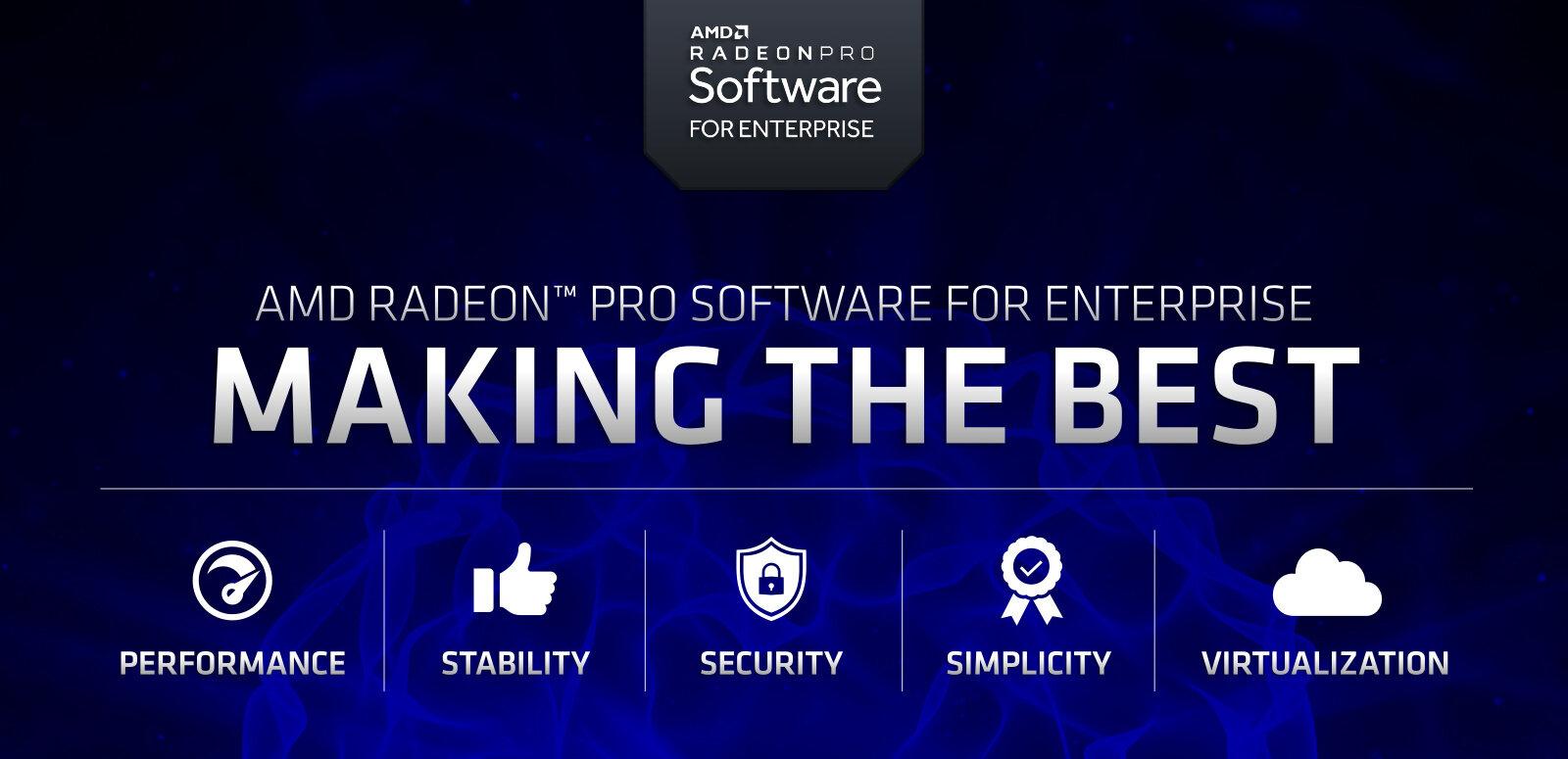 AMD : pilotes Pro 19.Q2 pour Windows 10 May 2019 Update, sans support des Radeon VII