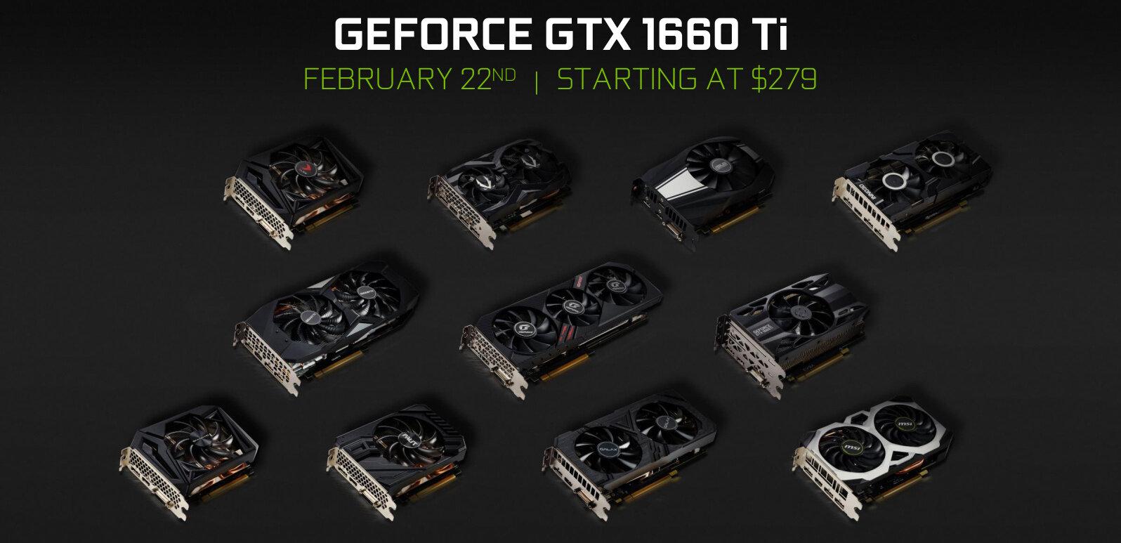Tout ce qu'il faut savoir de la GeForce GTX 1660 Ti, disponible dès 299 euros