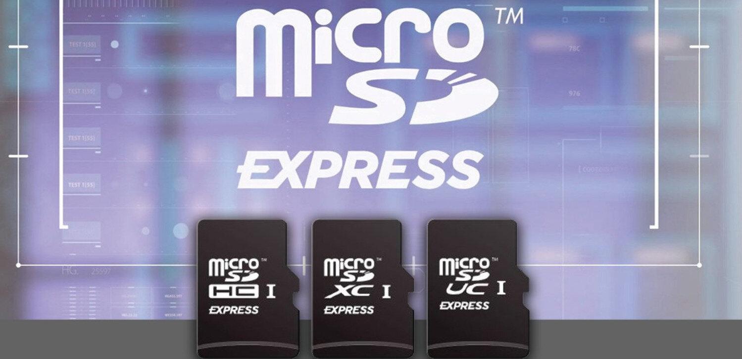 La SD Association annonce les cartes microSD Express, jusqu'à 985 Mo/s