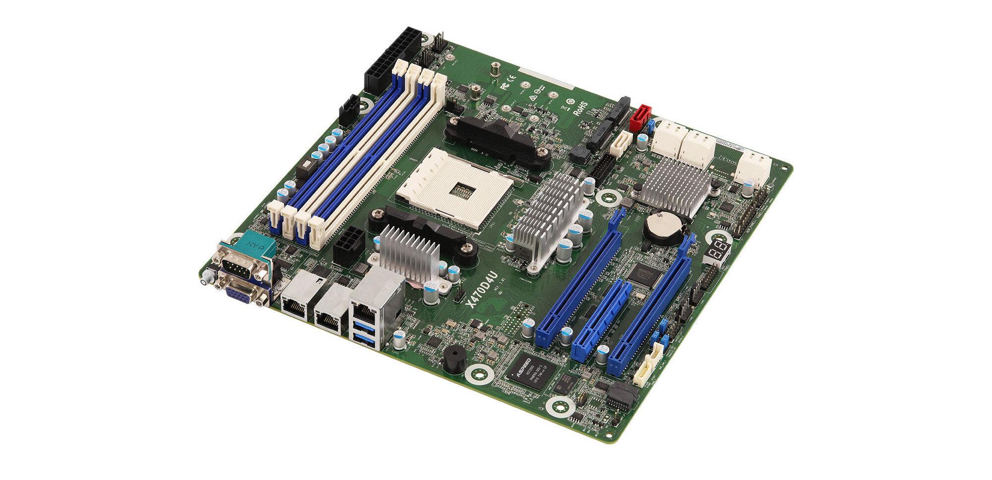 On a testé la carte mère X470D4U avec IPMI/BMC d'ASRock Rack pour Ryzen AM4