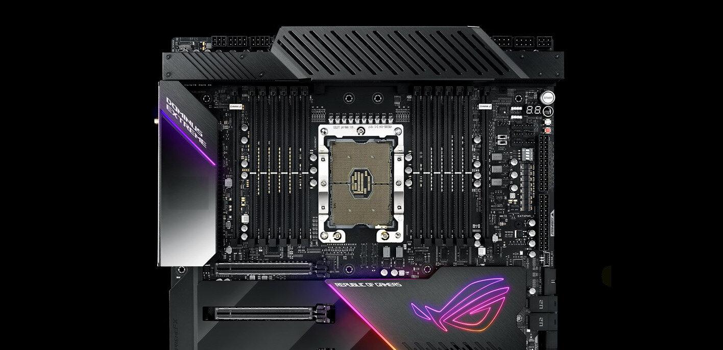 Xeon W-3175X : les ASUS ROG Dominus Extreme et Gigabyte C621 Aorus Xtreme s'opposent