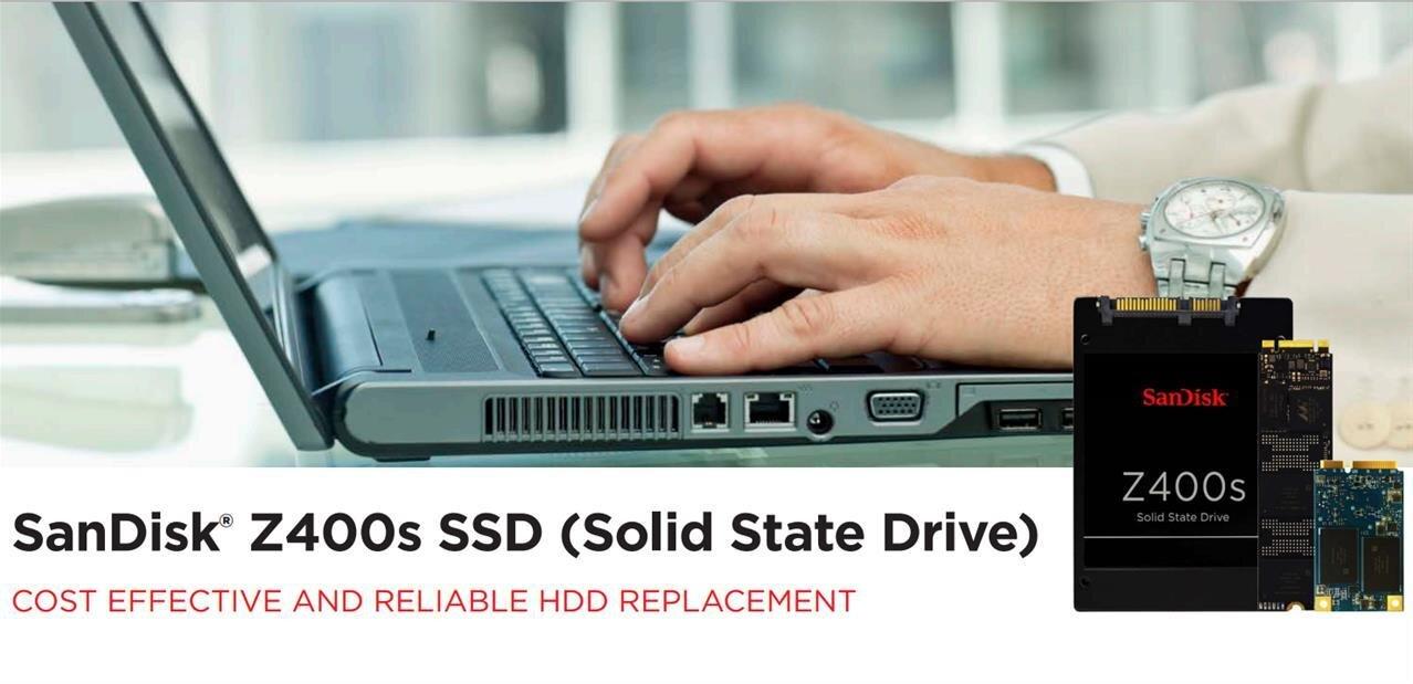 SanDisk Z400s : des SSD S-ATA, mSATA et M.2 qui se veulent abordables