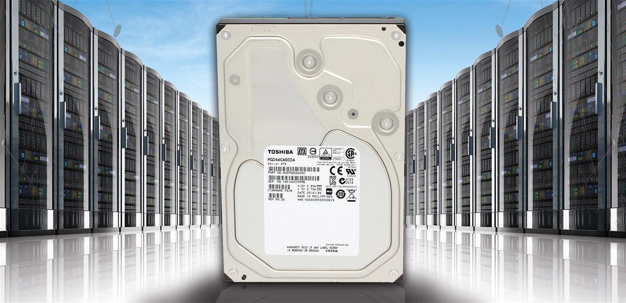 Toshiba dévoile son disque dur MG04 de 6 To à 205 Mo/s