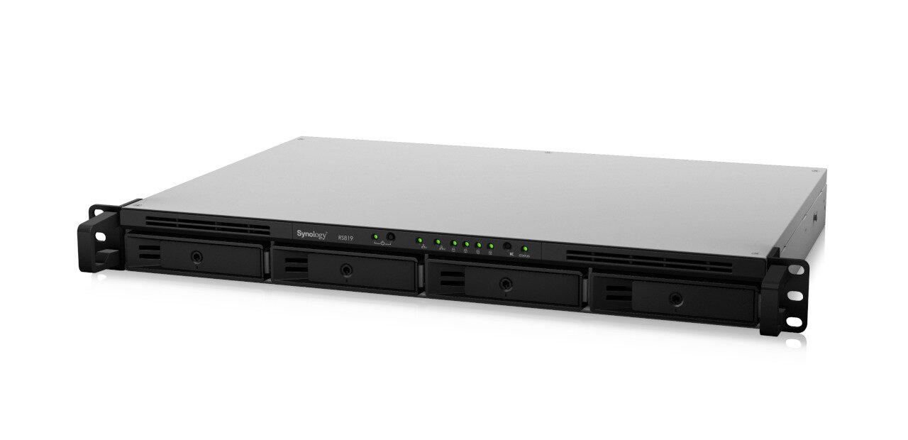 Synology RS819 : un NAS rackable d'entrée de gamme avec Btrfs et ses instantanés