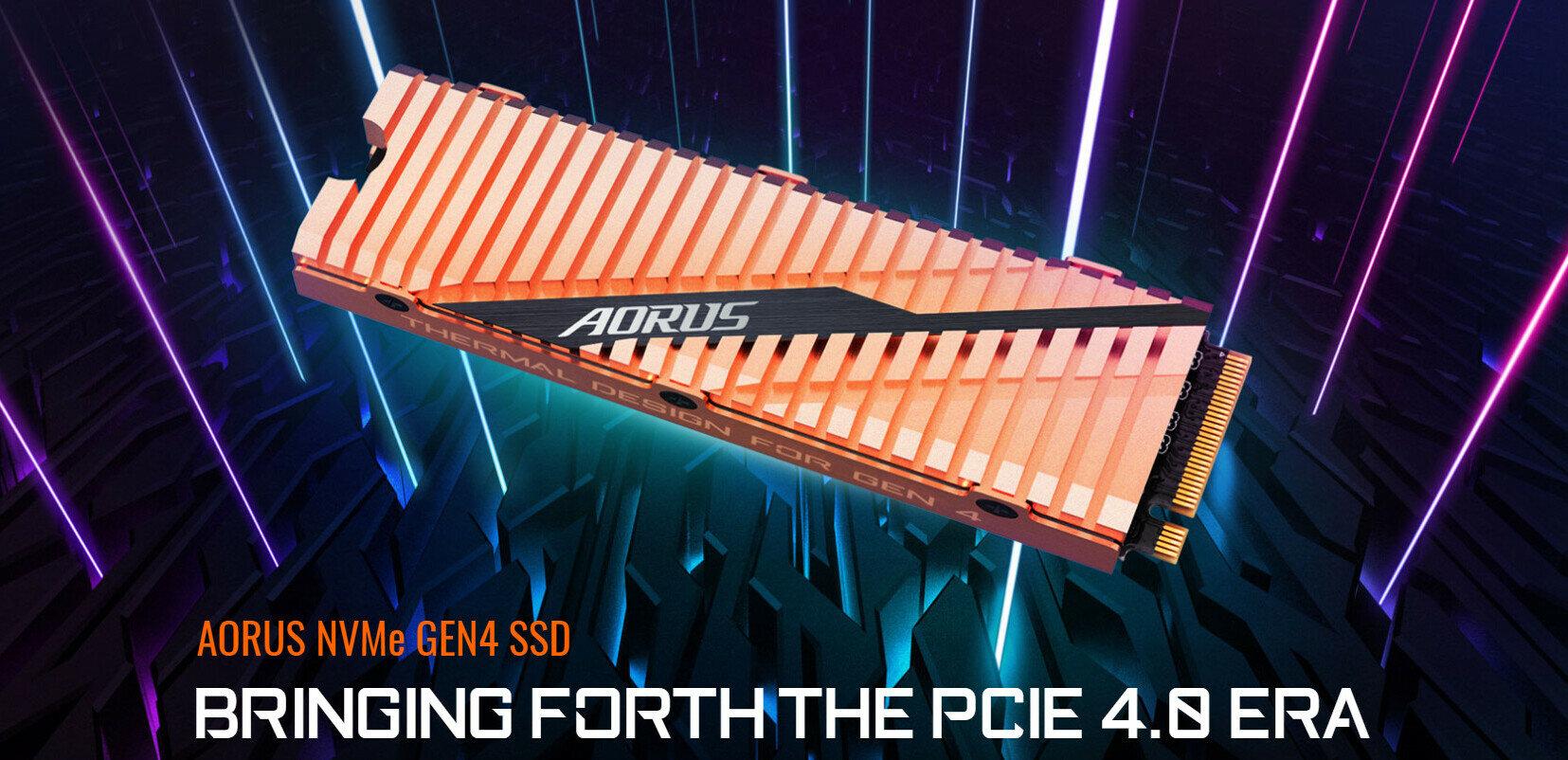SSD Gigabyte Aorus PCIe 4.0 : quelles performances pour 0,25 euro du Go ?