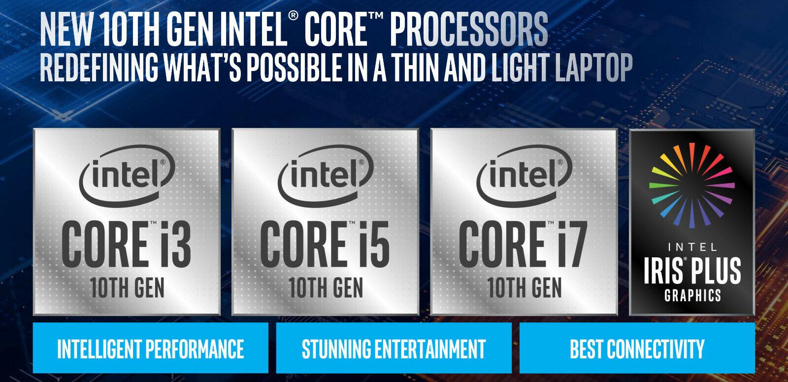 PC portables : Intel dévoile 11 processeurs Ice Lake en 10 nm