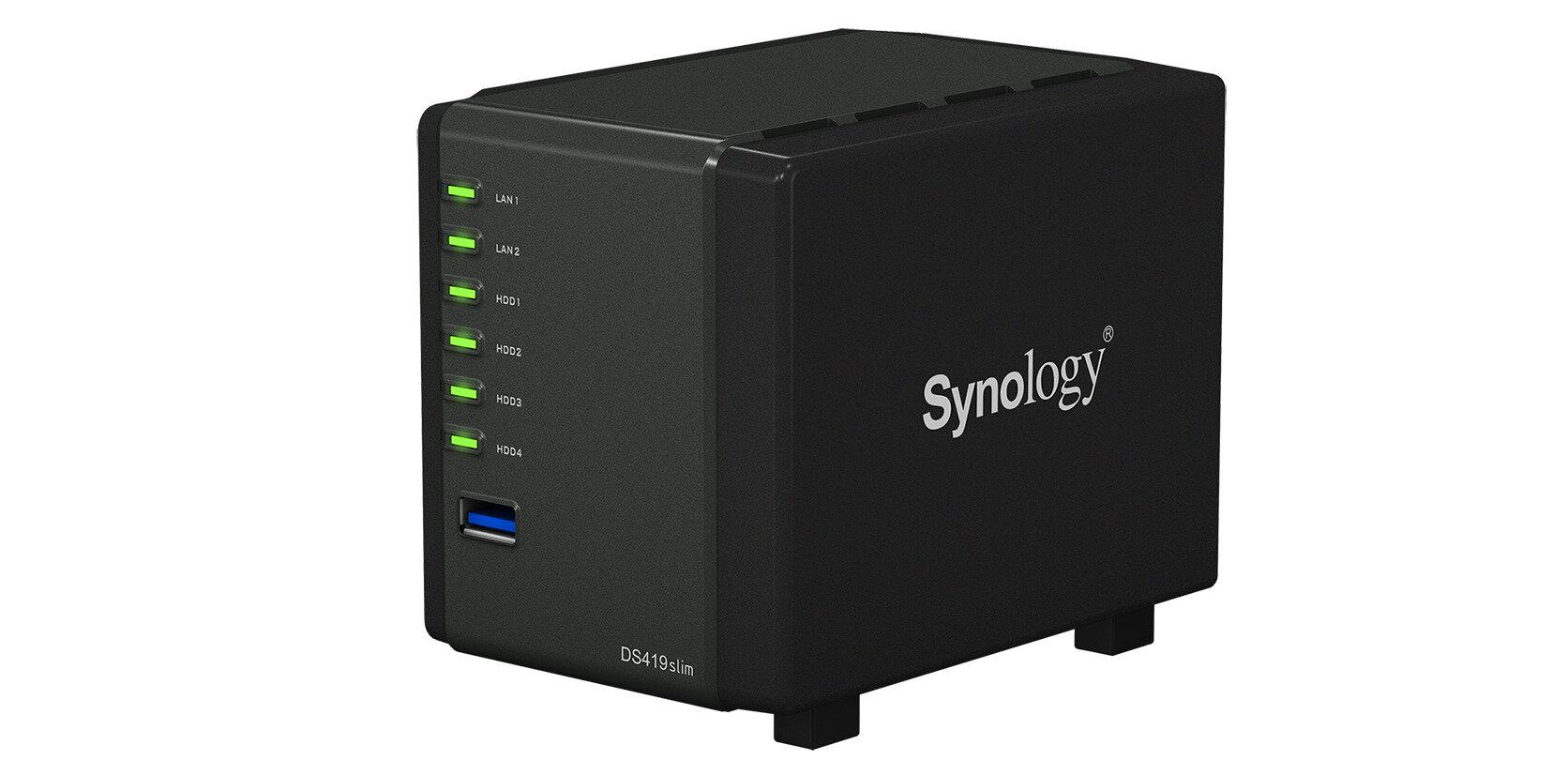 DS419slim : Synology renouvelle son NAS compact... en gardant ses défauts