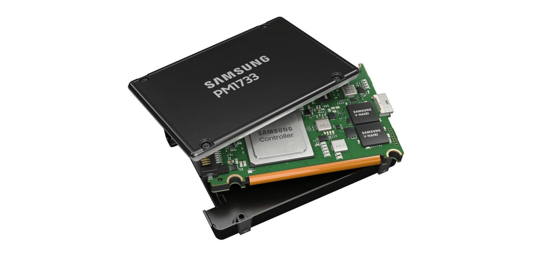 Samsung annonce ses SSD PM1733 PCIe 4.0 jusqu'à 8 Go/s et des barrettes de 256 Go de DDR4