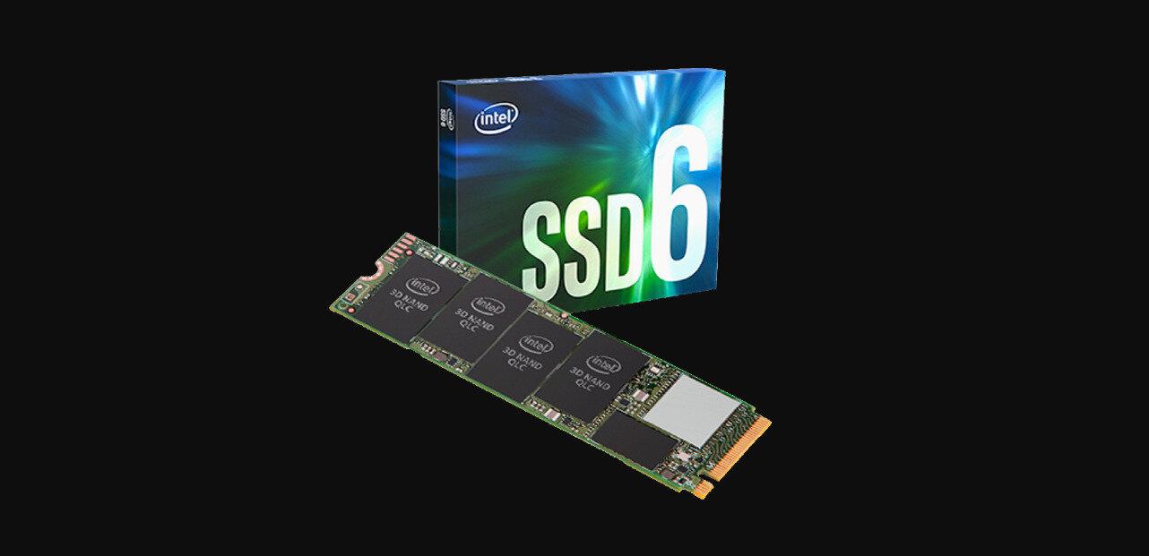 SSD Intel 665p (M.2) : NAND QLC sur 96 couches, hausse de l'endurance et des débits