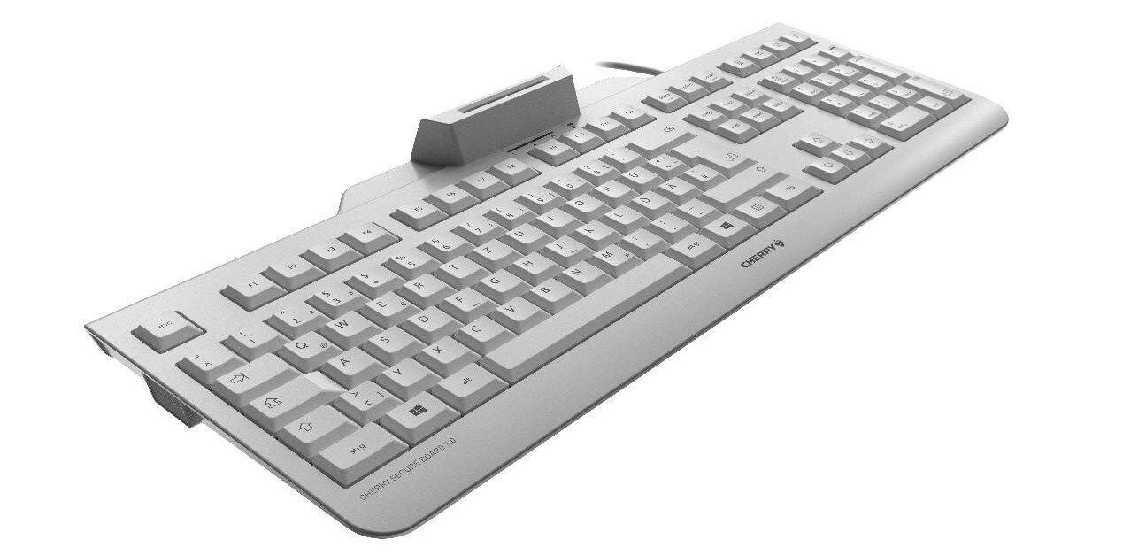 Cherry Secure Board 1.0 : un clavier avec lecteur de cartes, NFC et transmission chiffrée