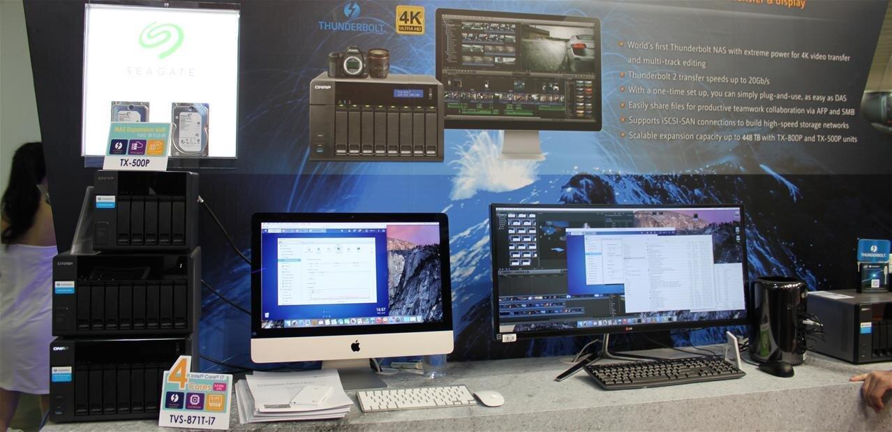 TVS-871T : QNAP lance son NAS avec des ports 10 Gb/s et Thunderbolt