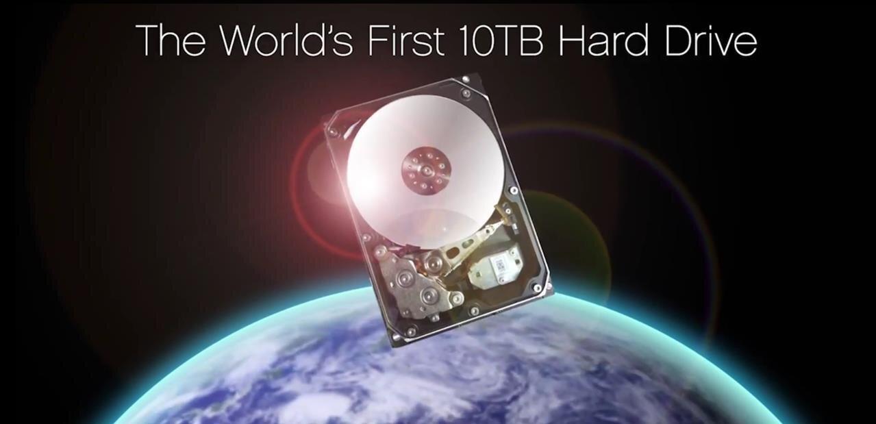 HGST lance son disque dur Archive Ha10 de 3,5 pouces de 10 To