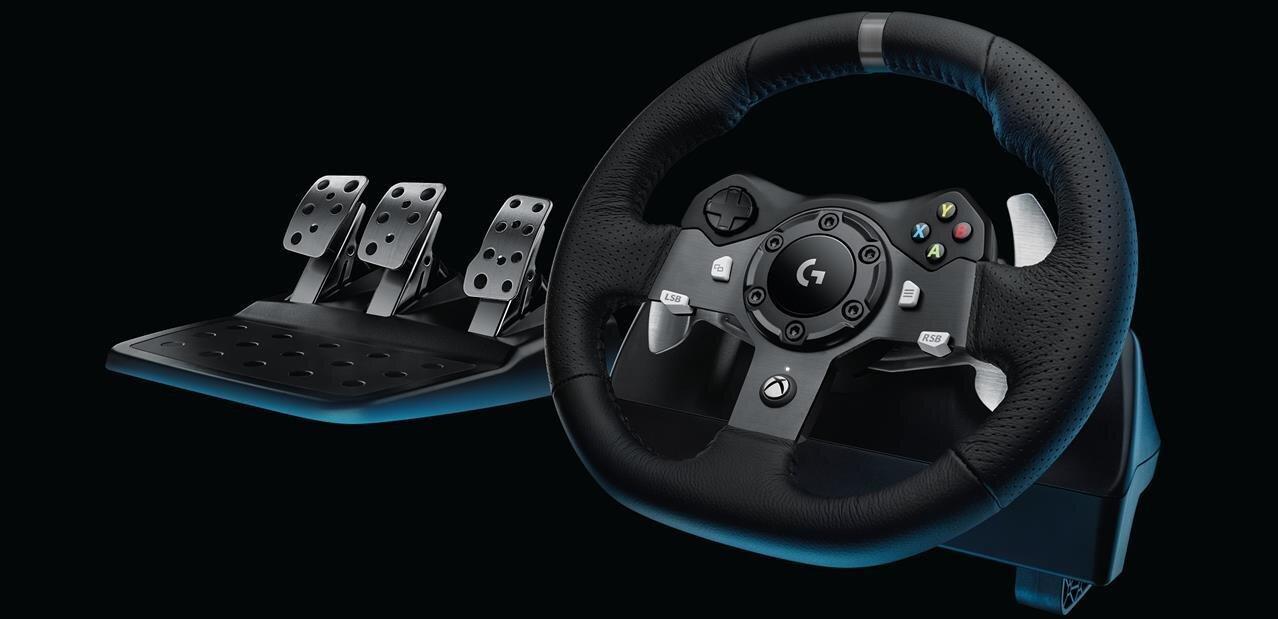 Logitech G29 et G920 : deux volants à 400 euros pour PC, PS4 et Xbox One