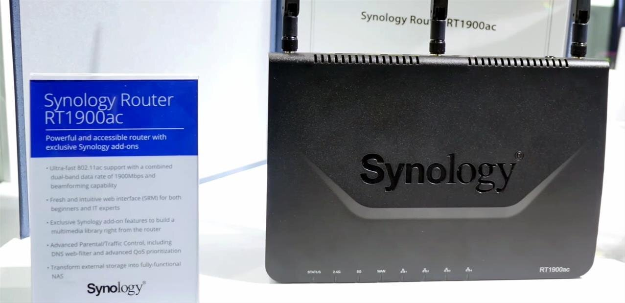 Synology : quatre nouveaux NAS et un routeur avec filtrage DPI