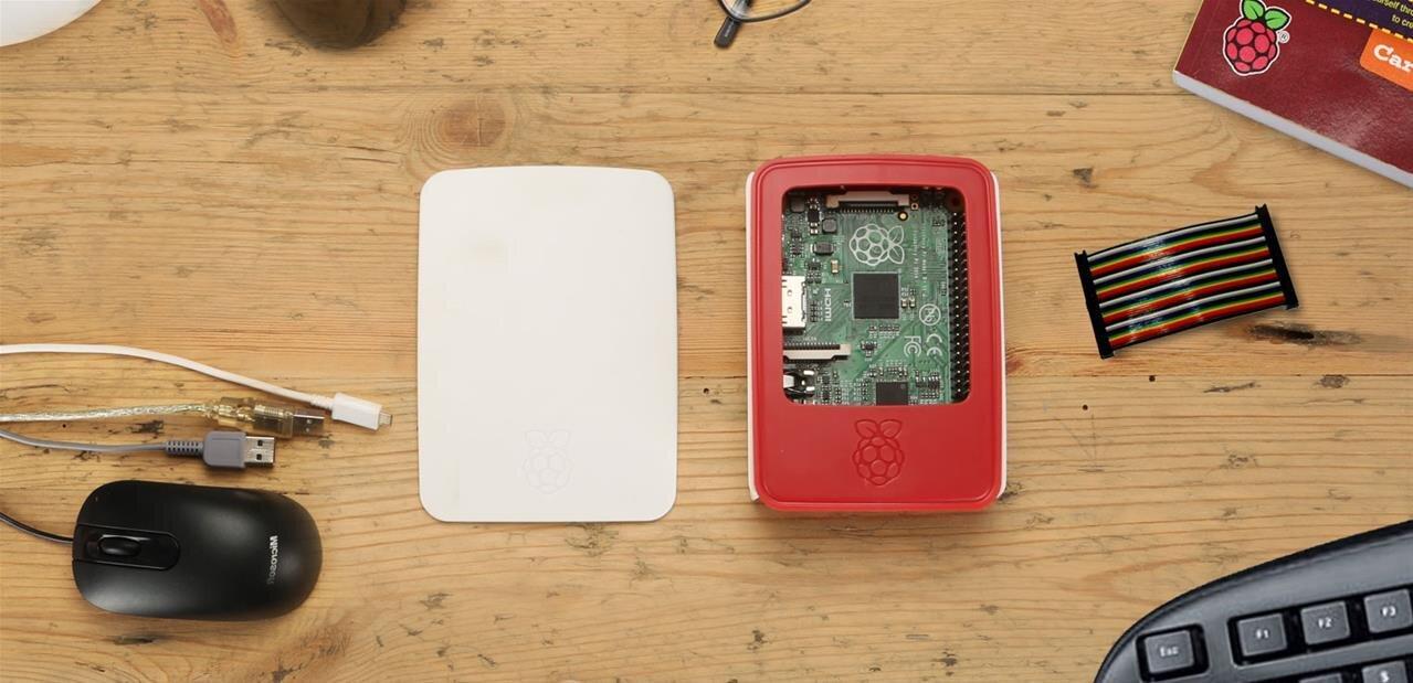 Raspberry Pi : un boîtier officiel avec capot amovible pour 10 euros