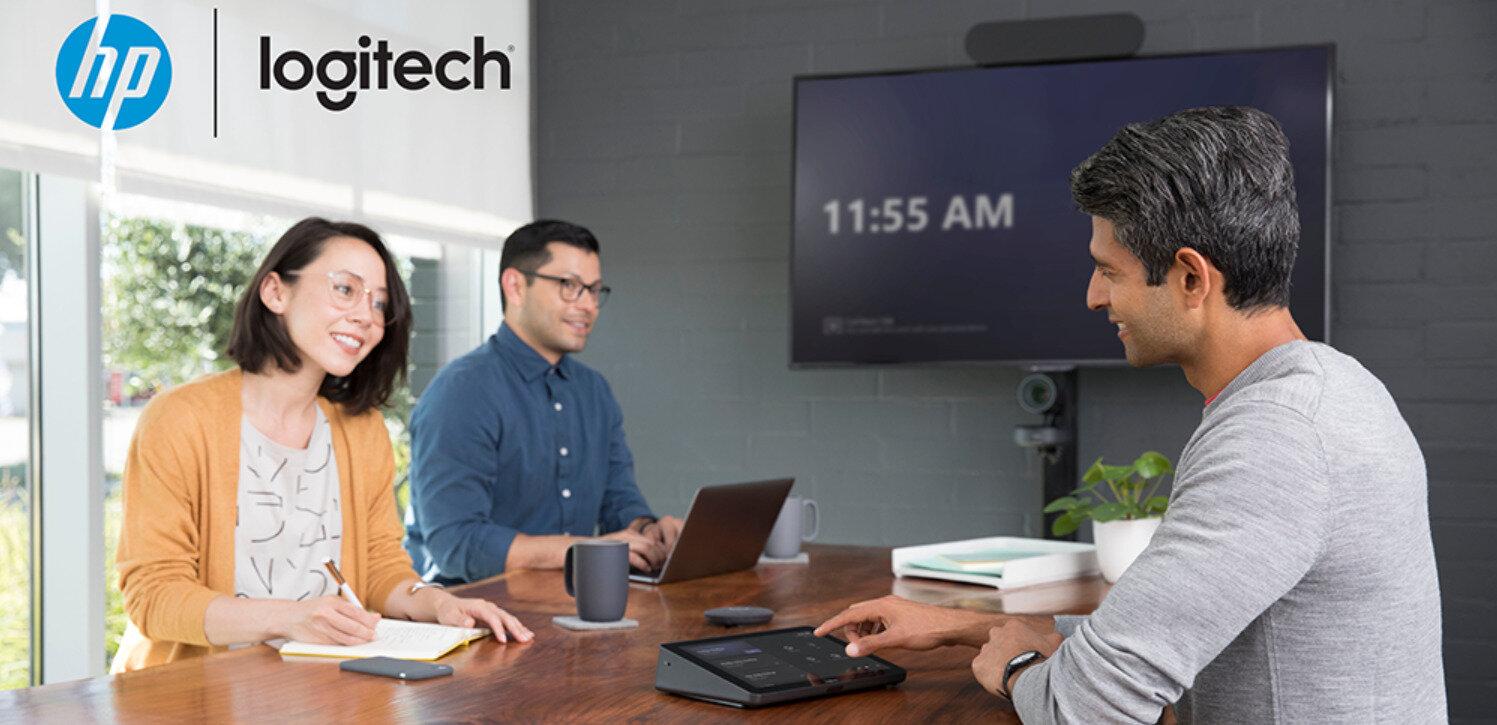 Vidéoconférence : Logitech propose des micro-ordinateurs HP avec son kit Tap (Teams ou Zoom) #IH