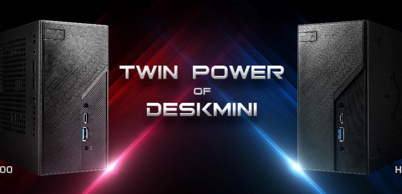 DeskMini X300 et H470 : ASRock met à jour ses barebones mini STX #IH
