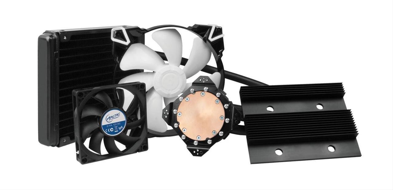 Accelero Hybrid III 140 : un système de watercooling compatible avec 55 GPU