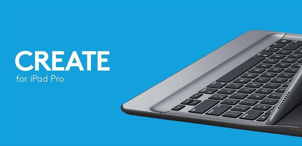 Logitech CREATE pour iPad Pro : un autre clavier compatible Smart Connector