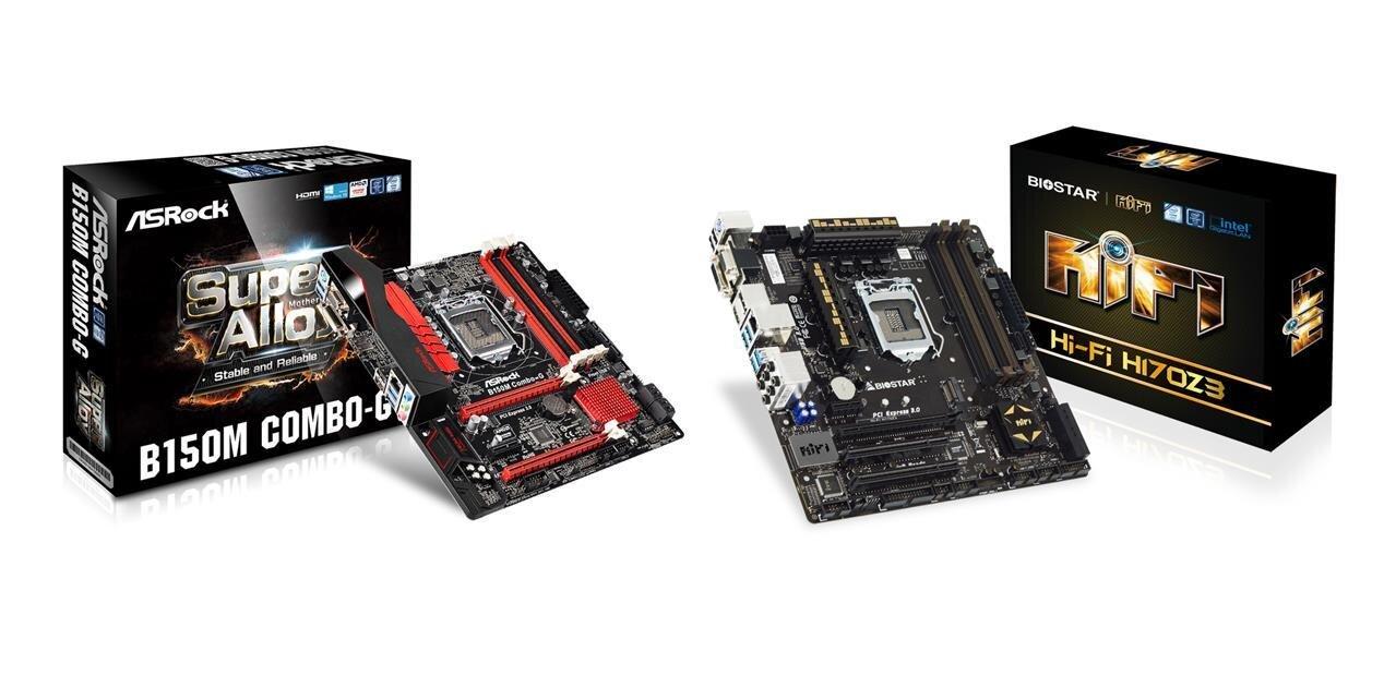 Skylake : des cartes mères « combo » DDR3 et DDR4 chez ASRock et Biostar