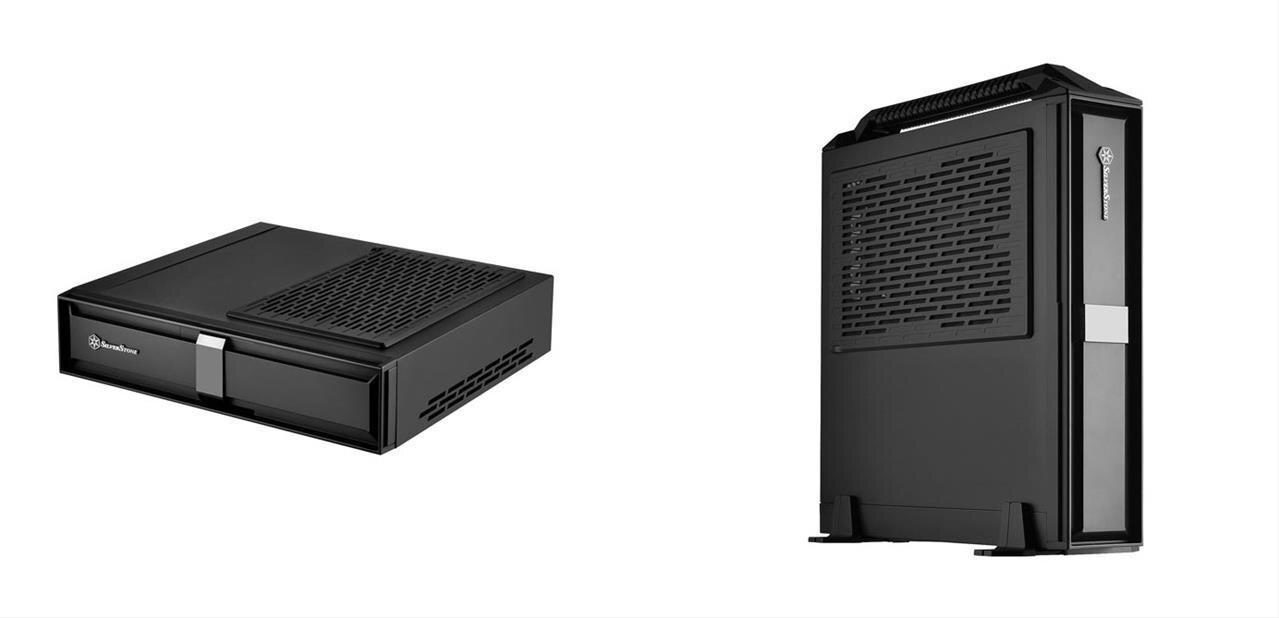 Silverstone Milo ML08 : un boîtier mini-ITX au « format console »