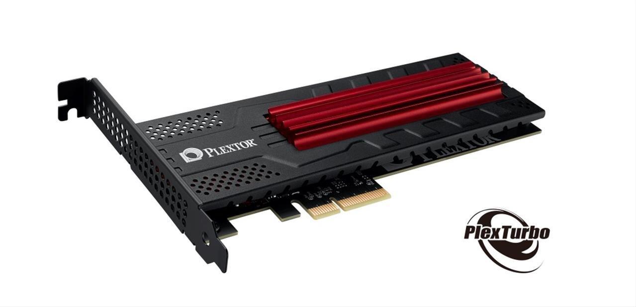 SSD Plextor : M6e Black Edition avec PlexTurbo 2.0 et M7e à plus de 1,4 Go/s