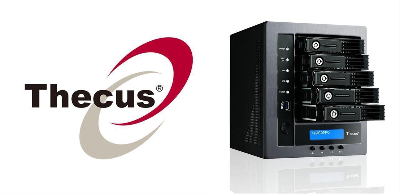Thecus annonce son NAS N5810 avec sortie HDMI, mais toujours sous ThecusOS 5
