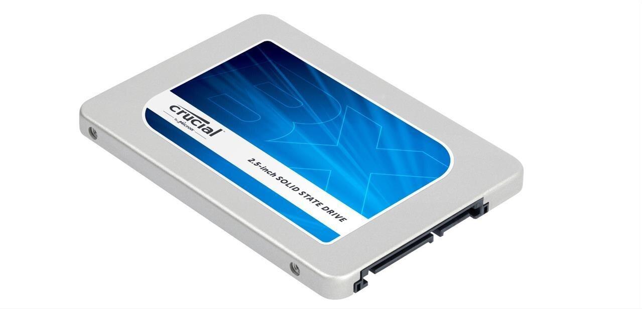SSD BX200 de Crucial : puces TLC et jusqu'à 540 Mo/s, dès 0,34 euro par Go