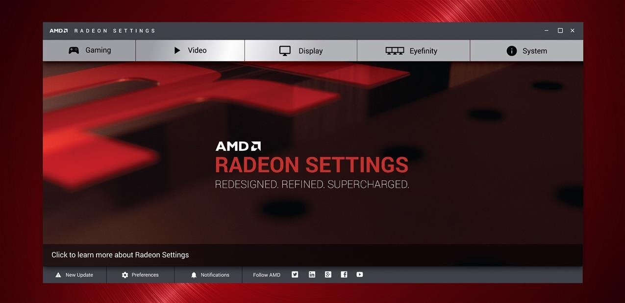 AMD Radeon Software : la marque Catalyst est morte, la Crimson edition arrive