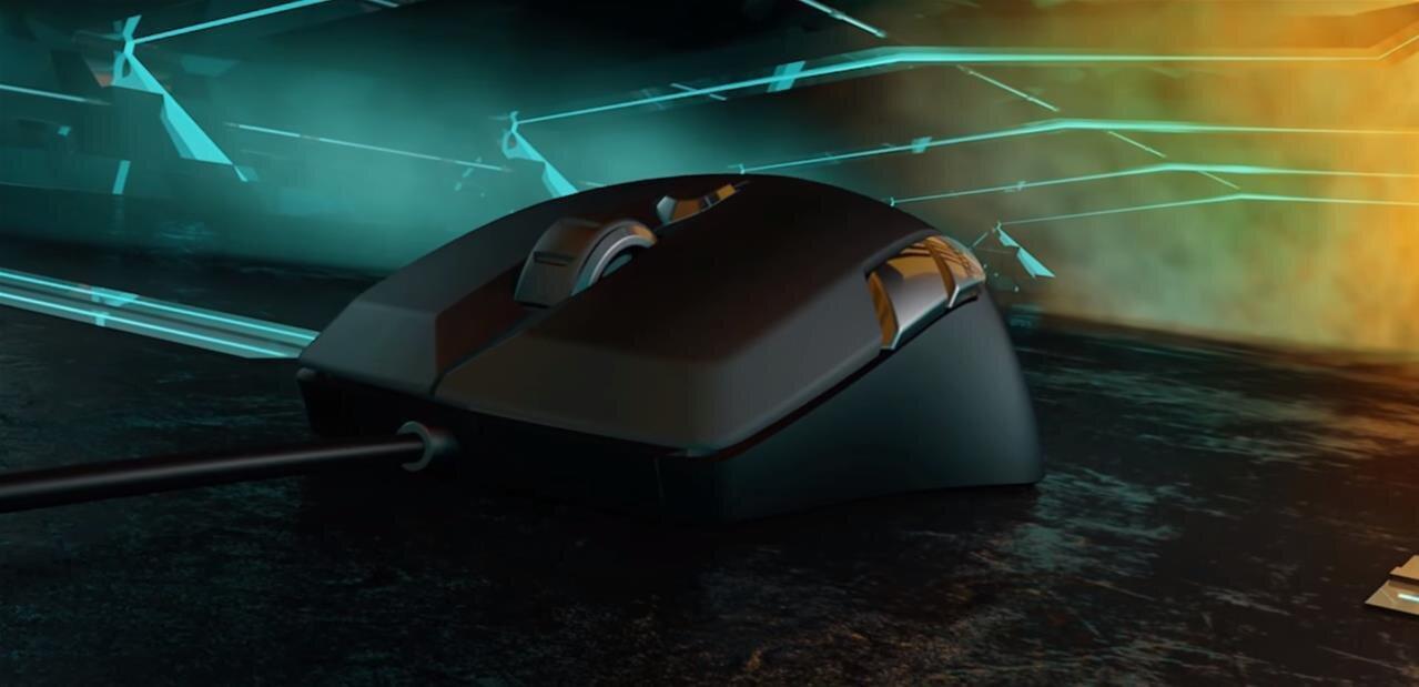 Roccat  Kiro : une souris ambidextre, personnalisable (impression 3D) pour 49,99 euros