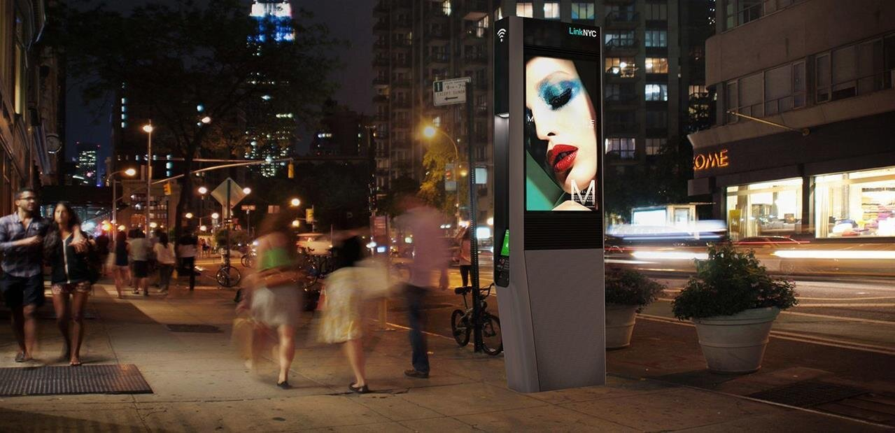 LinkNYC : New York commence à déployer ses bornes Wi-Fi gigabit