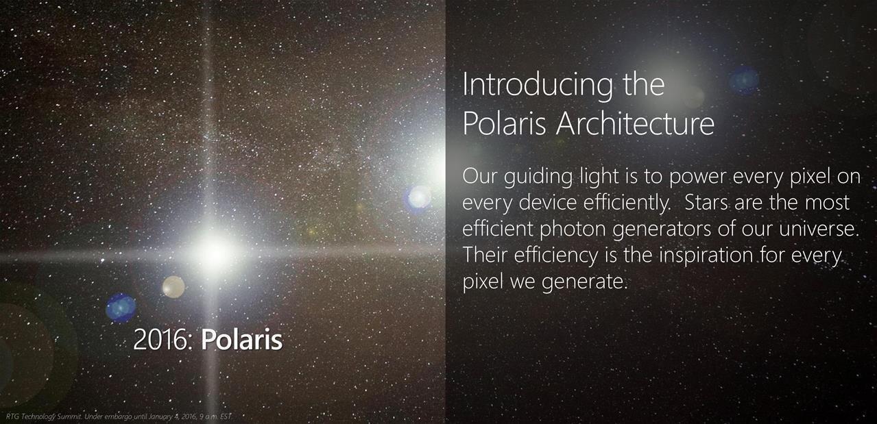 AMD veut rassurer en multipliant les annonces et dévoile son architecture Polaris
