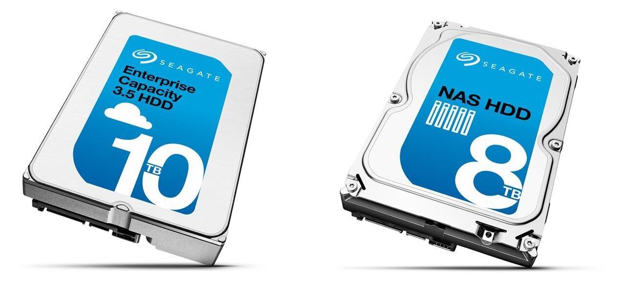 Seagate : un disque dur NAS HDD de 8 To et un Enterprise Capacity de 10 To