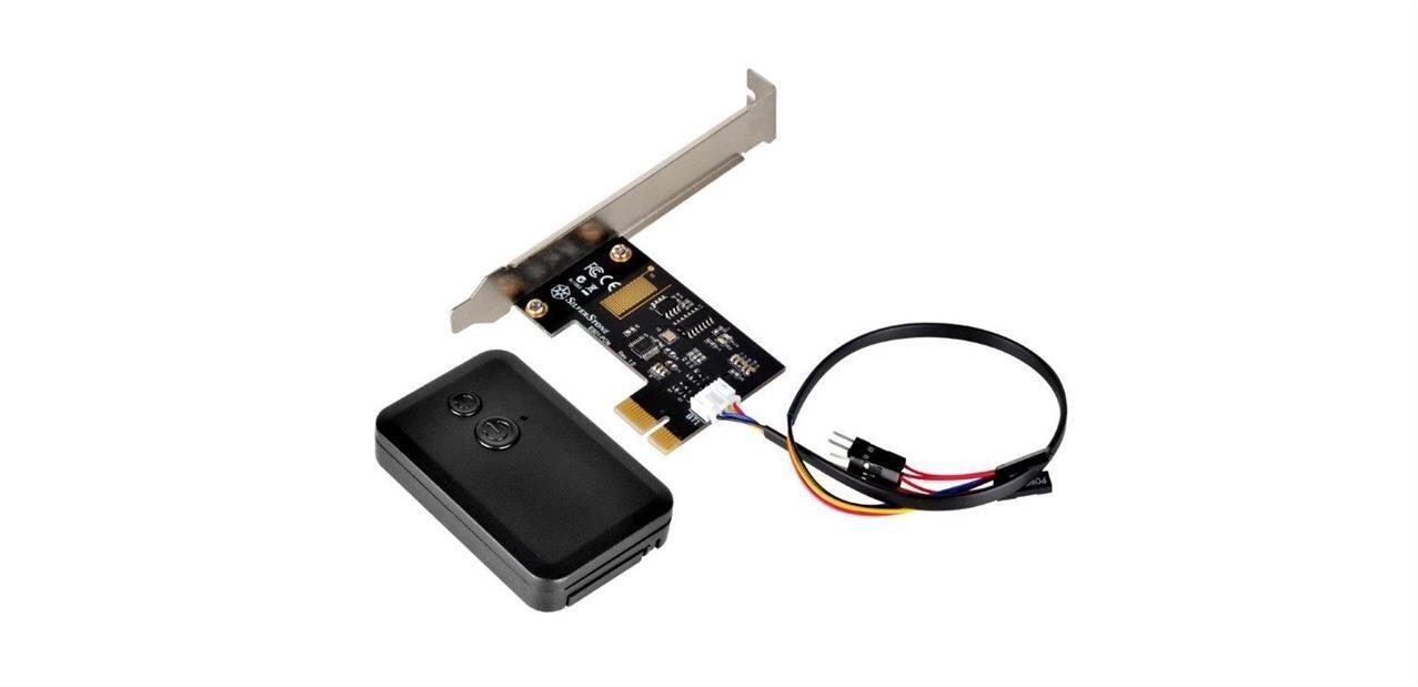 ES01 :Silverstoneprésente...une télécommande pour allumer ou redémarrer votre PC