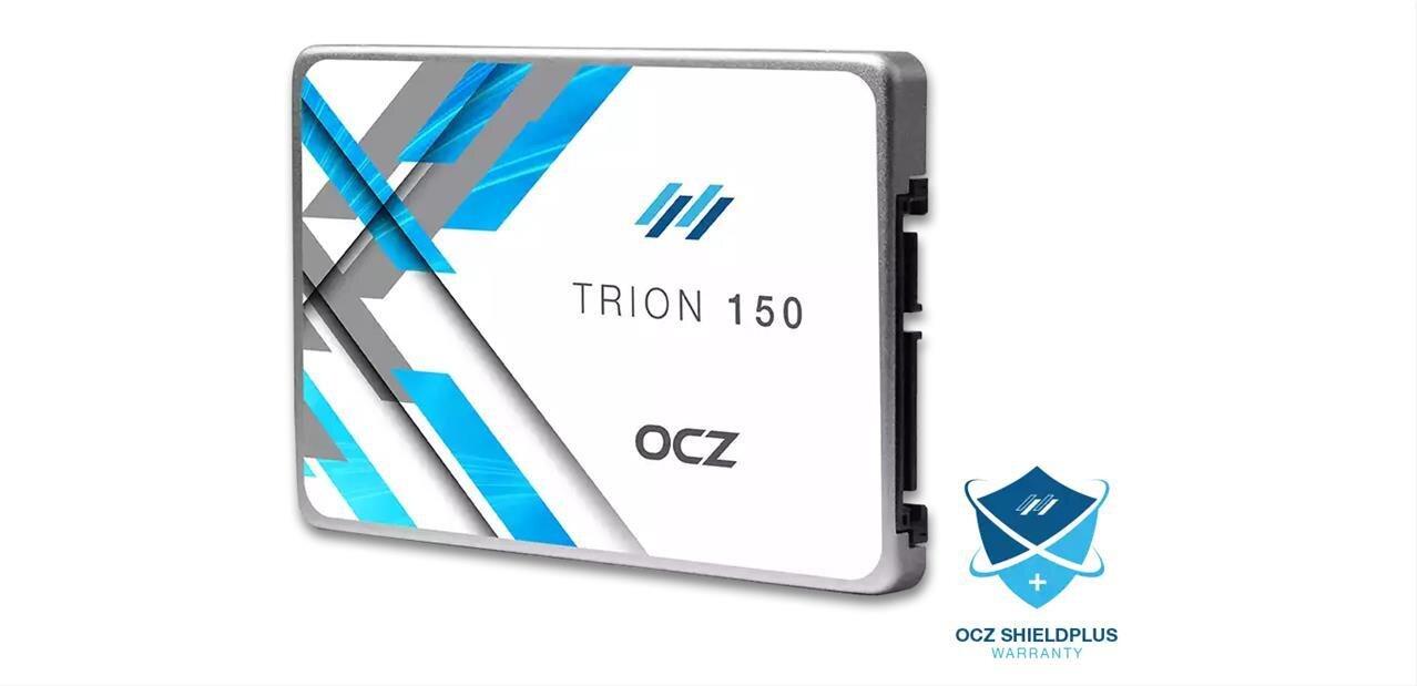 SSD OCZ Trion 150 : une évolution des Trion 100, avec des puces TLC de 15 nm