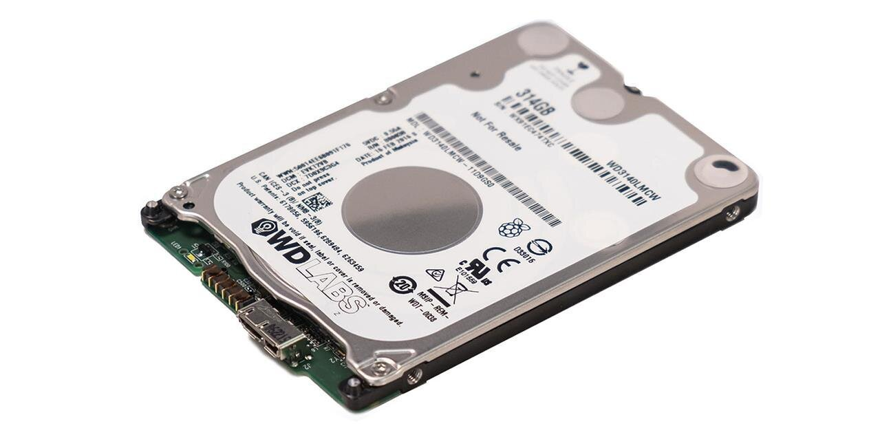 Western Digital PiDrive : un disque dur USB de 314 Go pour le Raspberry Pi