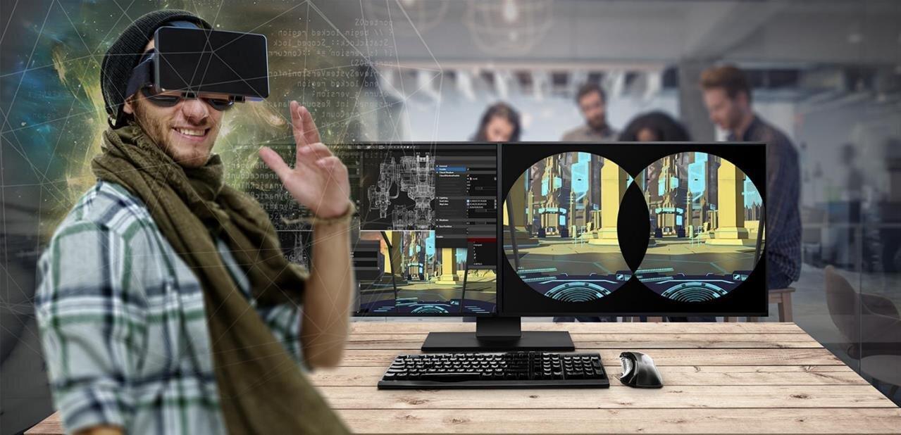 AMD mise sur la VR : Radeon Pro Duo à 1499 $, casque Mini PC Sulon Q et VR First
