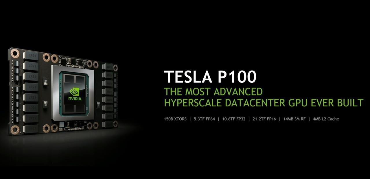 Pascal à tous les étages chez NVIDIA : Tesla P100, DGX-1 à 129 000 $ et Roborace